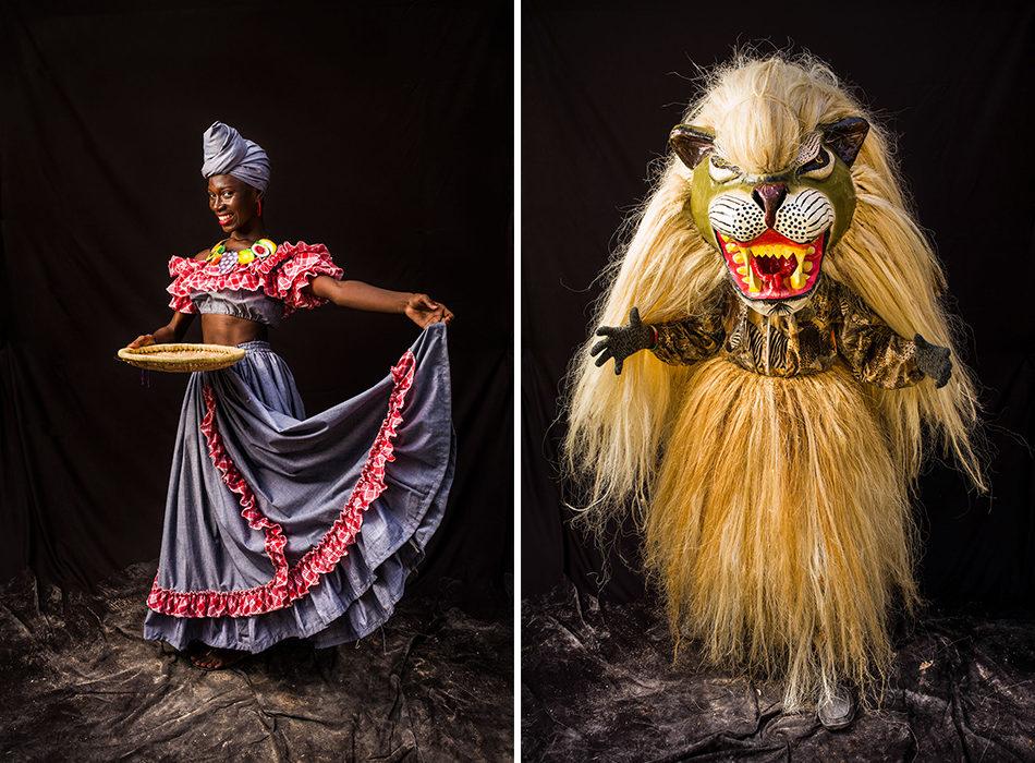 Karnaval in Haiti