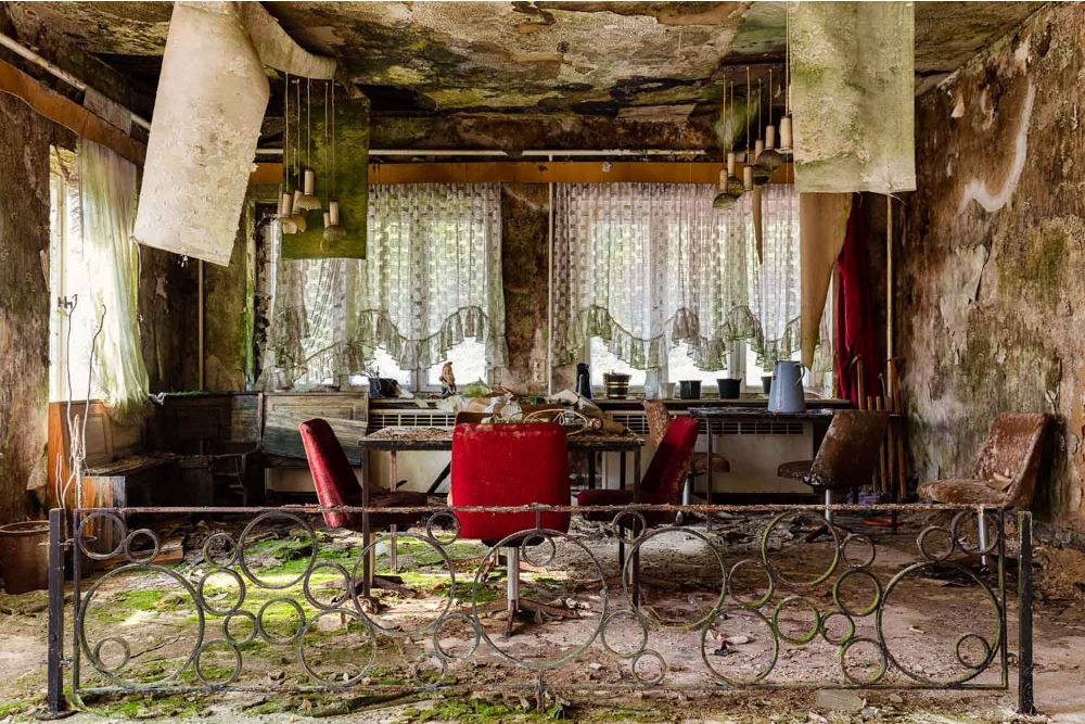 Italian Food Near Me Abandone Building Casa: Decadence And Neglected Spaces In James Kerwin's