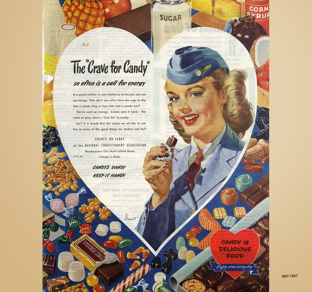 The-Crave-for-Candy-an-airhostess-speaks-1947-thechicflaneuse