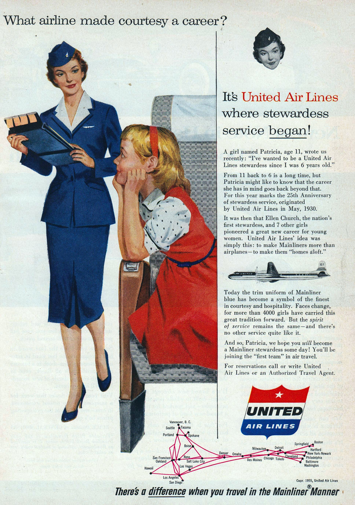 United-Air-Lines-What-Airline-made-Courtesy-a-career-1955-thechiflaneuse