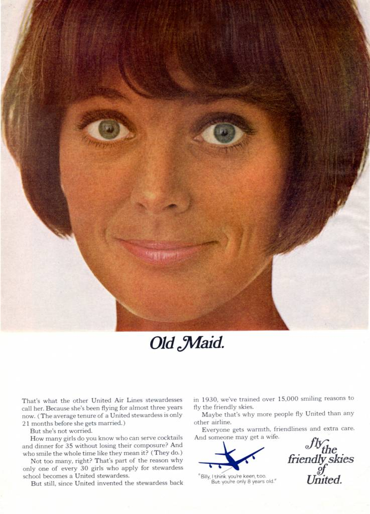 United-Airlines-1967-vintage ad-thechicflaneuse