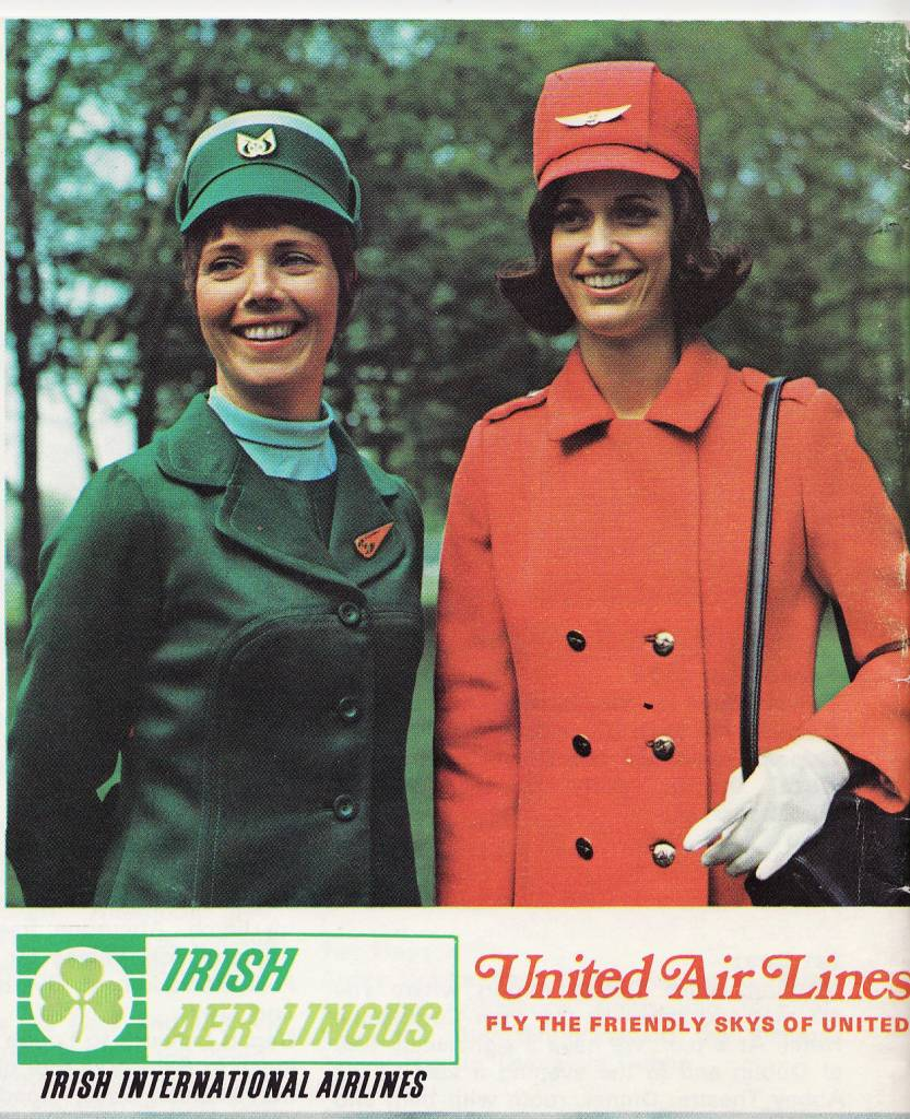 United-Airlines-Aer-Lingus-Stewardesses-1971-thechicflaneuse