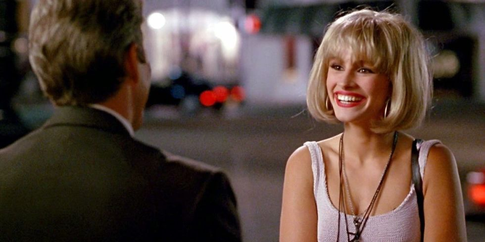 e2a5cec93a99 Julia Roberts's iconic dress in Pretty Woman for sale on Asos - The ...