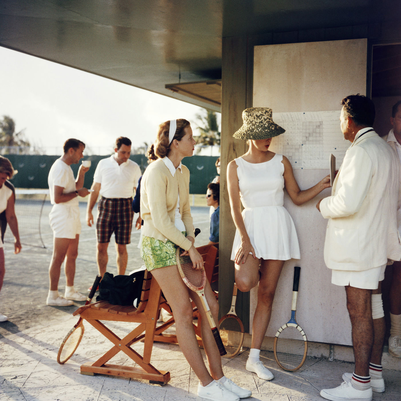 slim aarons_tennis-the high life documentary