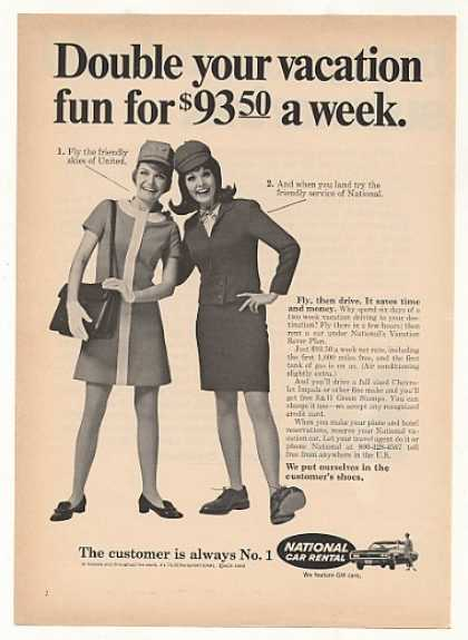 stewardesses vintage ad thechicflaneuse