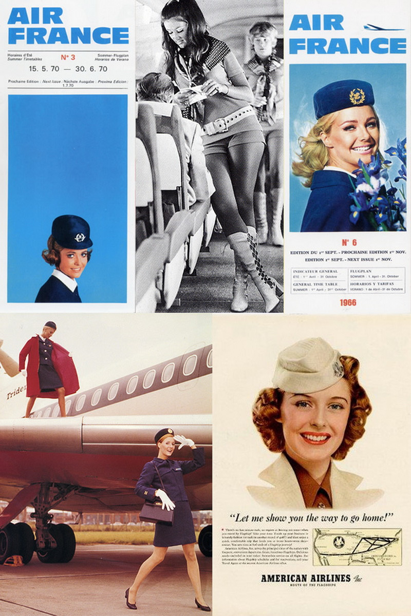 vintage_stewardess_photo -thechicflaneuse
