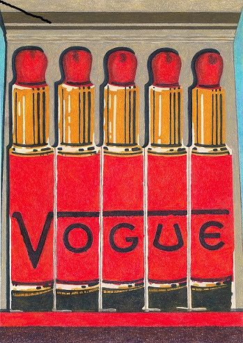 Vogue Matchbook, 2016© Aaron Kasmin, Courtesy of Sims Reed Gallery
