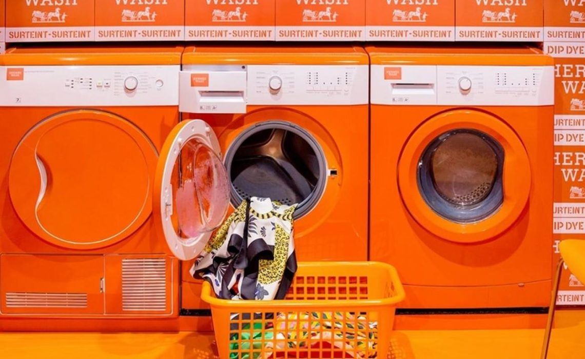 Hermès matic laundrette pop-up after sale service
