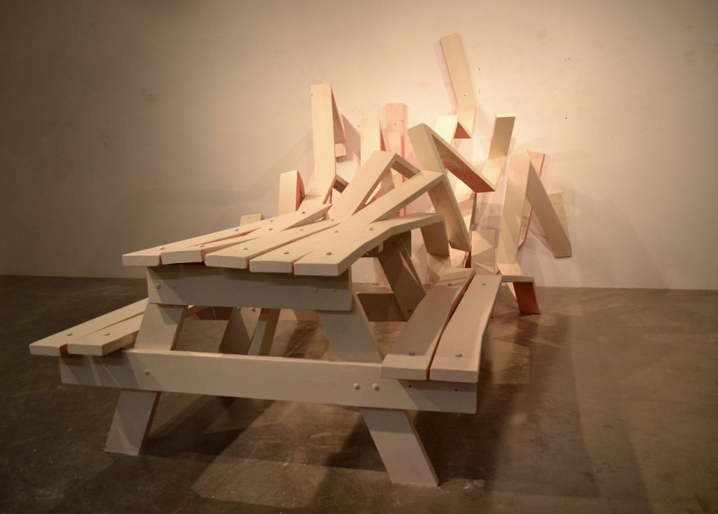 Michael Beitz sculptural design and human relationship -table -thechiflaneuse