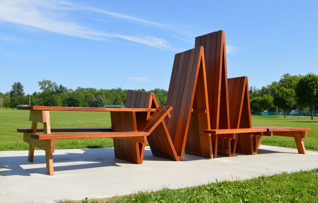 Michael-Beitz-sculptural design and human relationships -picnic table thechicflaneuse