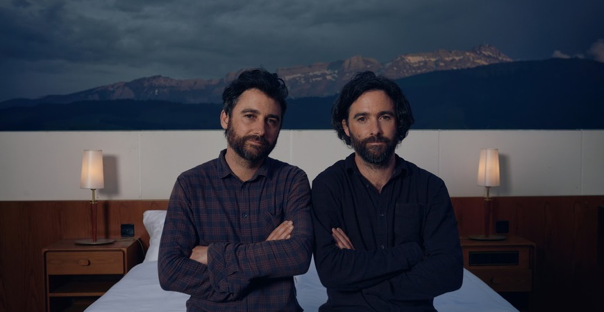 Swiss conceptual artists Frank and Patrik Riklin creators of null stern hotel thechicflaneuse