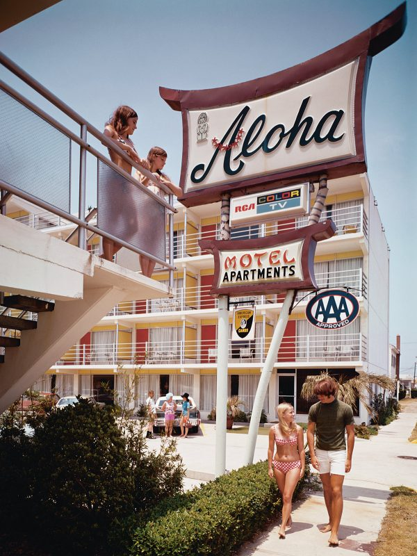 The-Aloha-Motel-on-the-Atlantic-coast-North-Wildwood-New-Jersey-1960s-Eric-Bard-Corbis-via-Getty-Images