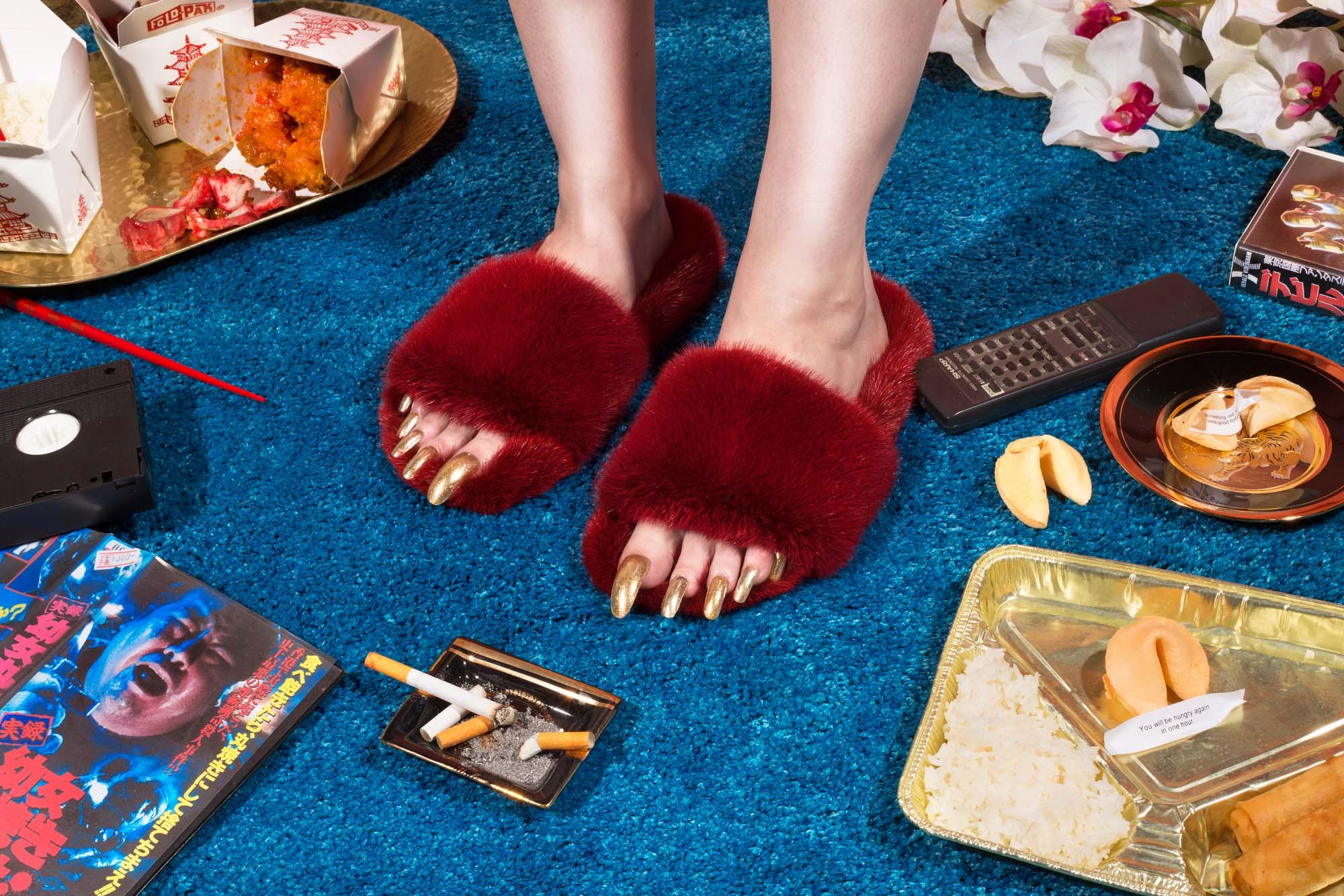 ZIZI Donohoe campaign 2016 fur slides