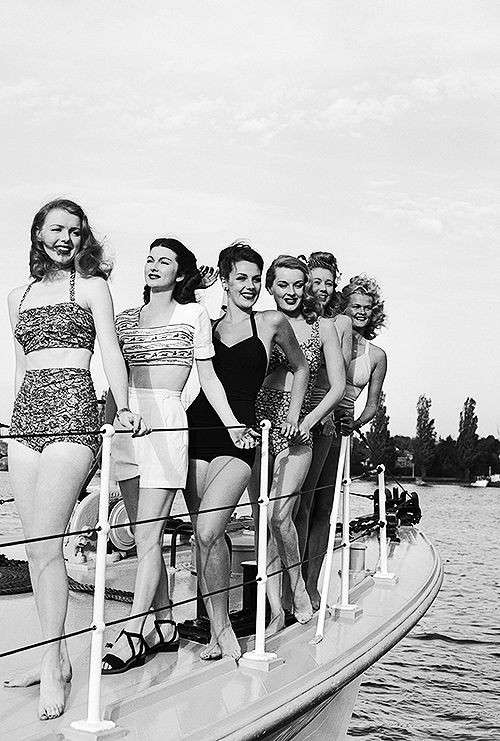 Bikini in the 40s