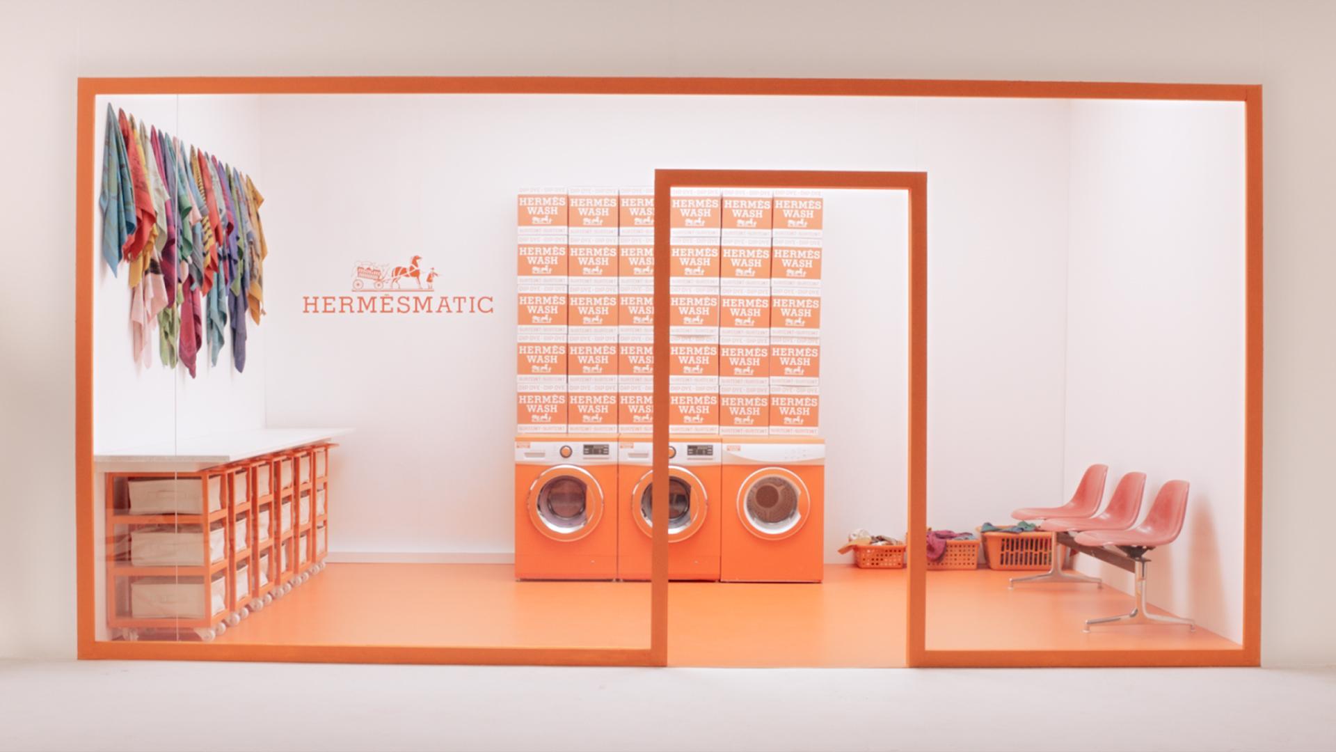 Hermès laundrette service