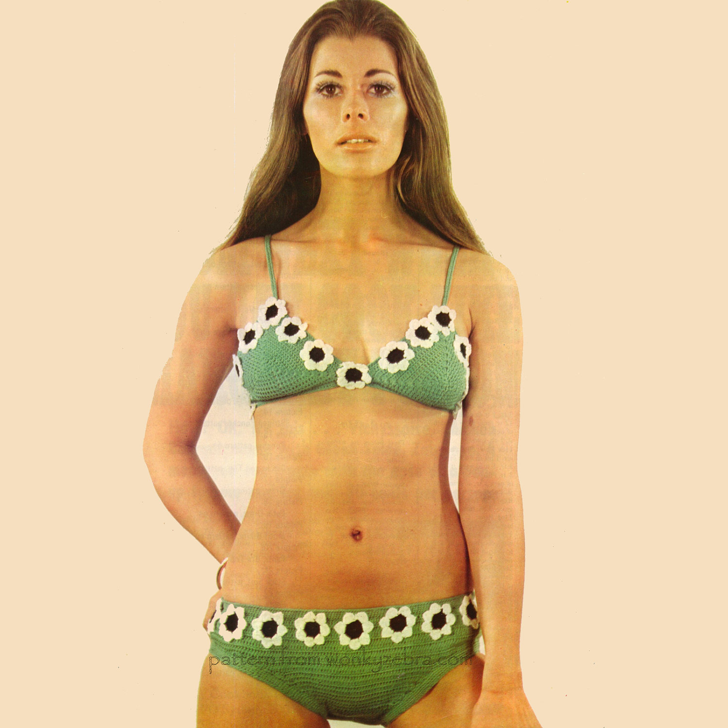 crochet bikini a must since the 70s