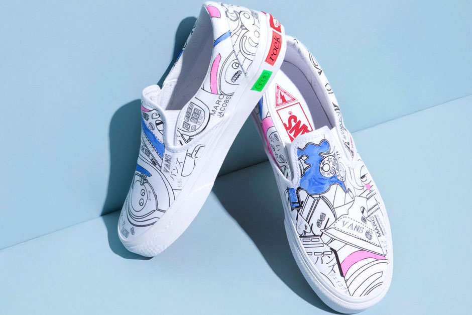 marc jacobs and vans slip on capsule collection - the chicflaneuse.com 15