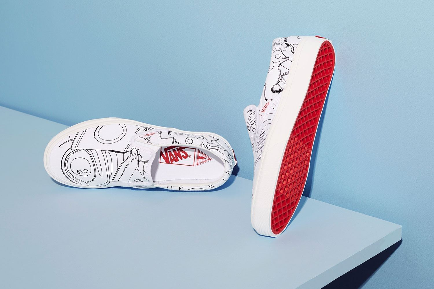 marc jacobs and vans slip on capsule collection - the chicflaneuse.com 4