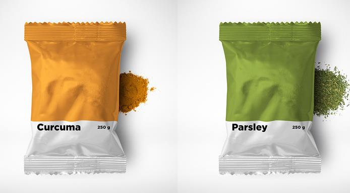 Pnatone Style Spices Packaging