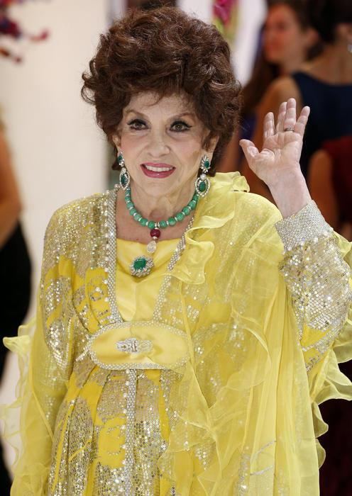Italian actress Gina Lollobrigida arrives for the 66th Red Cross Ball at the Sporting Club Salle des Etoiles in Monaco, 01 August 2014, (reissued 27 June 2017). Gina Lollobrigida turns 90 on 04 July 2017. EPA/SEBASTIEN NOGIER