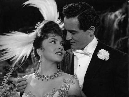 """Gina Lollobrigida in""""La donna più bella del mondo""""(1956)"""