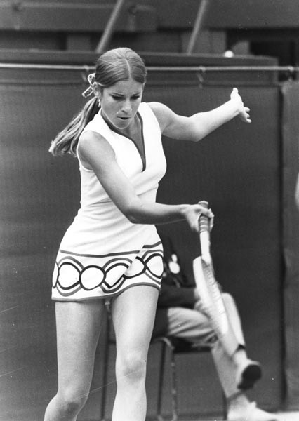 1972 Chris Evert (Chris Lloyd)