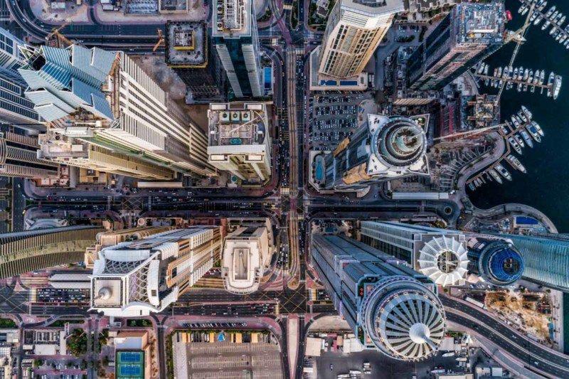 Urban Concrete Jungle Dronestagram 2017