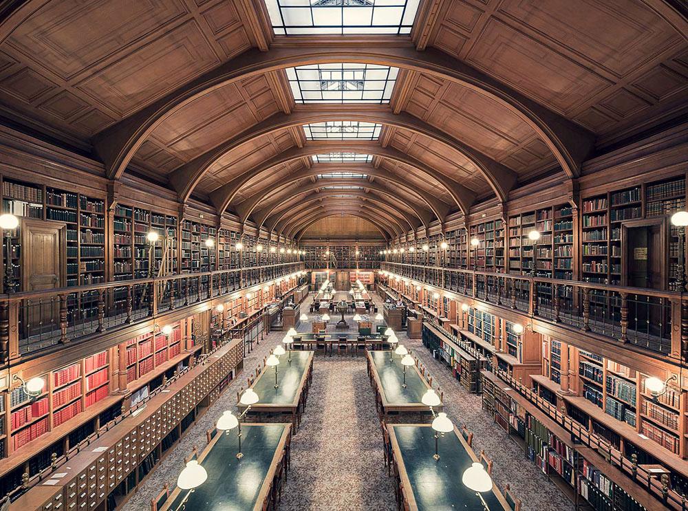 Bibliothèque de l'Hotel de Ville de Paris, Paris, 1890 - Thibaud Poirier - thehicflaneuse