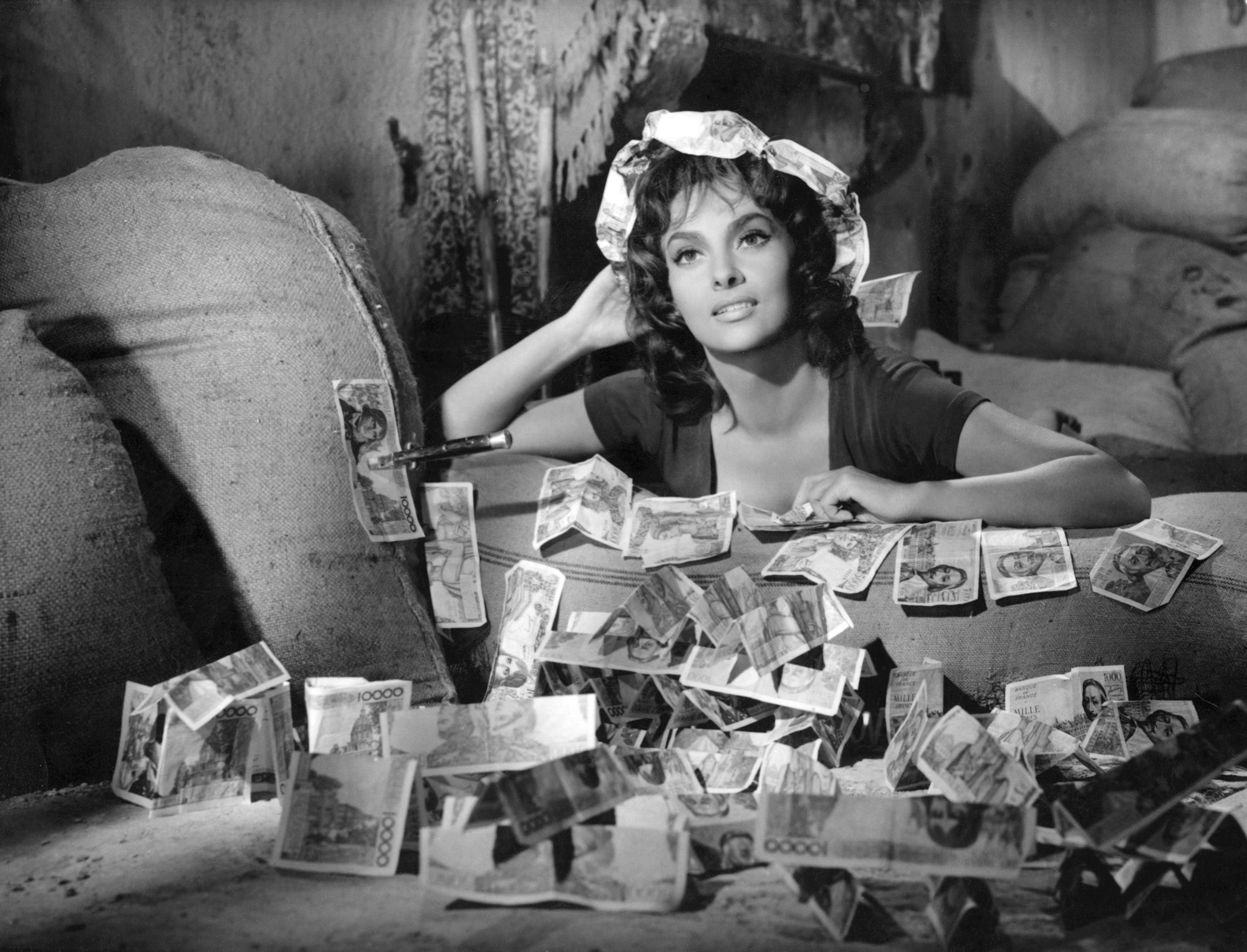 ina Lollobrigida in La Legge directed by Jules Dassin, 1959