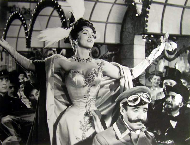 Gina Lollobrigida in La donna più bella del mondo directed by Robert Z. Leonard, 1955