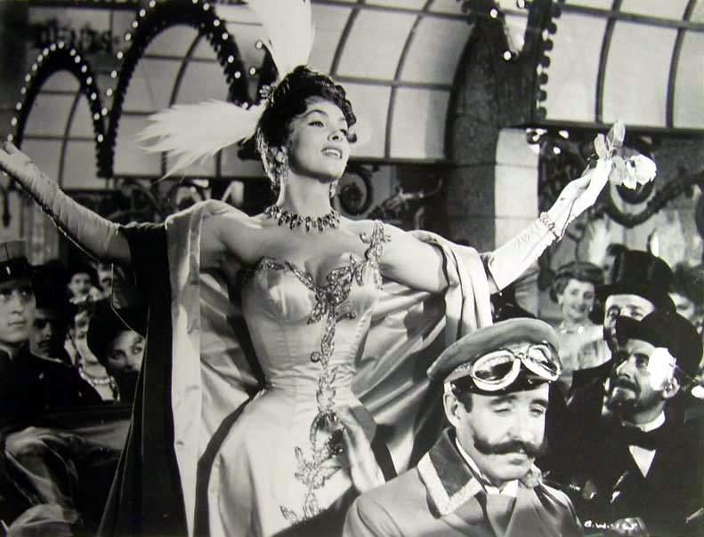 Gina Lollobrigida in La donna più bella del mondo directed by Robert Z. Leonard, 1955