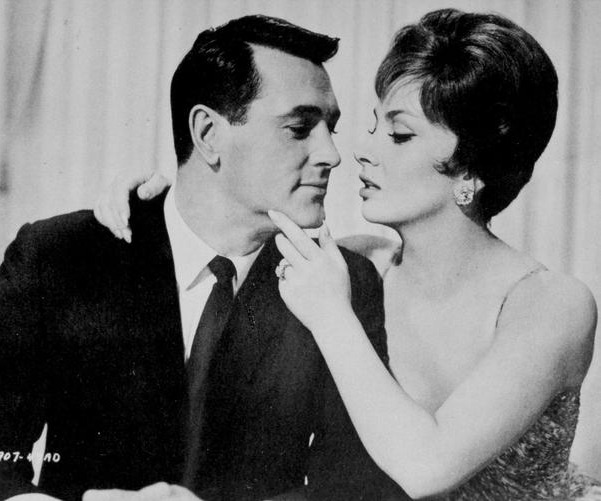 Gina lollobrigida with Rock Hudson Copyright Ansa