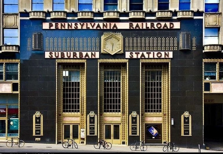 Pennsylvania Railroad Suburban Station, Pennsylvania - accidental wes anderson - thechicflaneuse