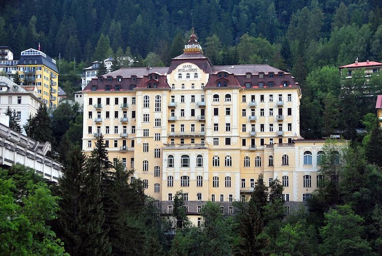 Grand Hotel de l'Europe in Bad Gastein, Austria - accidental wes anderson - thechicflaneuse