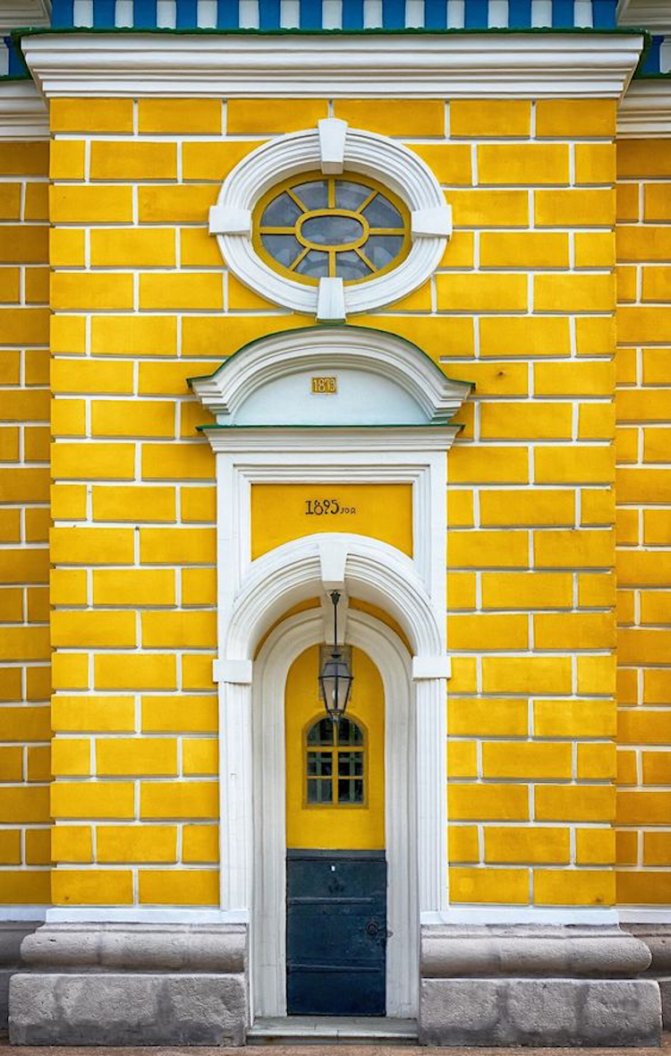 Door in Kiev, Ukraine - accidental wes anderson - thechicflaneuse