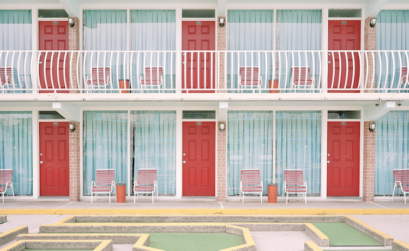 """Ebb Tide"" at Gold Crest Resort Motel by Tyler Haughey - accidental wes anderson - thechicflaneuse"