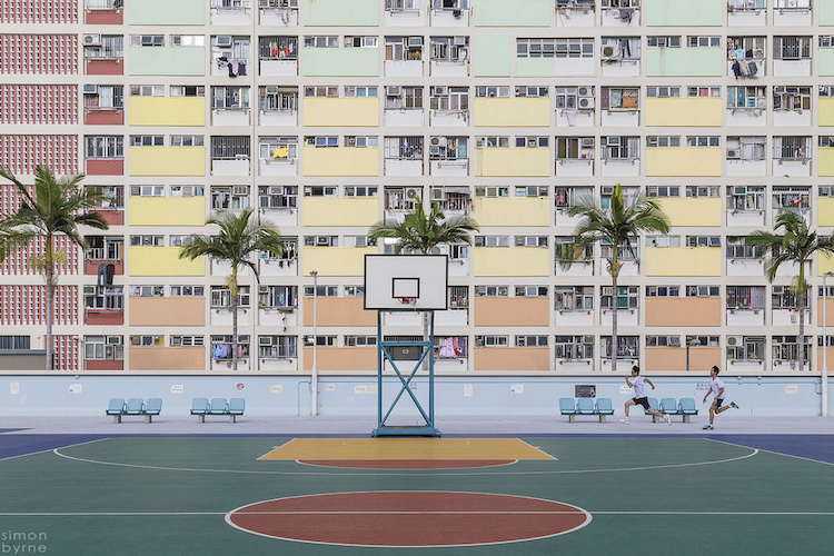 Choi Hung Estates in Hong Kong - accidental wes anderson - thechicflaneuse