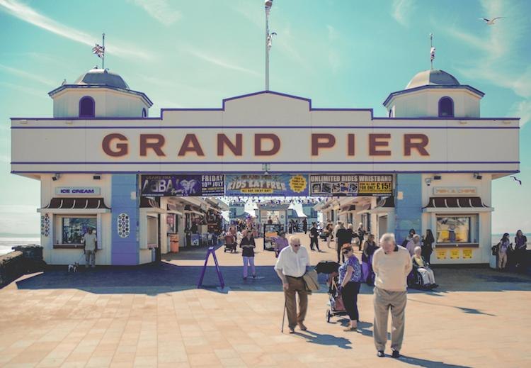 Grand Pier in Weston-super-Mare, England - accidental wes anderson - thechicflaneuse