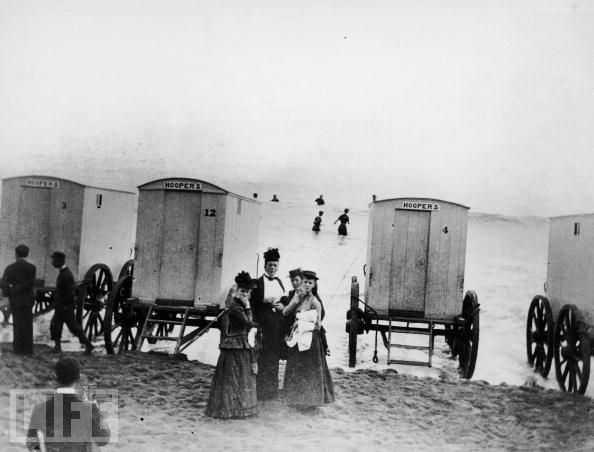 c351f2e964290 Some Bathing Machines Were Also Equipped With A Canvas Tent That Could Be  Dropped In Water To Give Even More Privacy To The Bather.