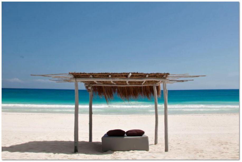 casa malca eco chic resort in tulum mexico beach cabana - thechicflaneuse