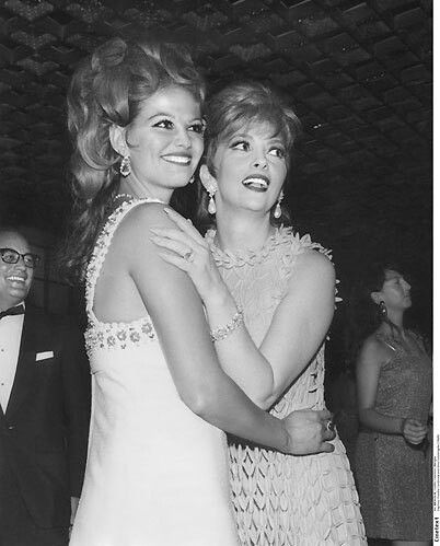 gina lollobrigida and claudia cardinale
