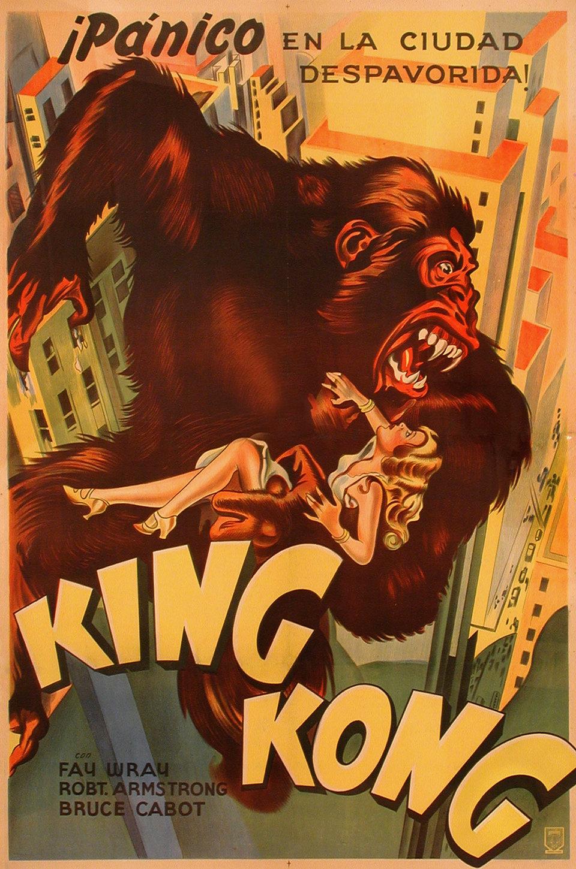 king kong poster posteritati