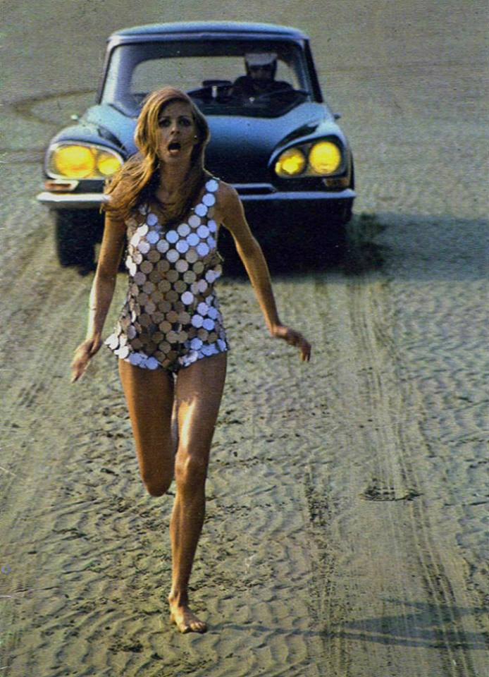 Helmut Newton - DS Citroen Catalog 1969