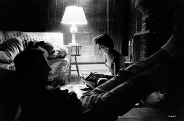 Natalie Wood, Dennis Hopper and Nick Adams