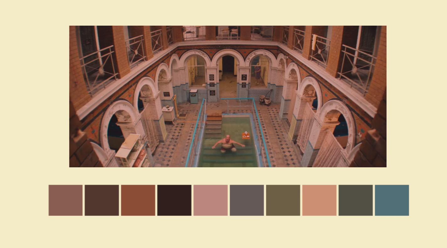 Wes-Anderson-color palette