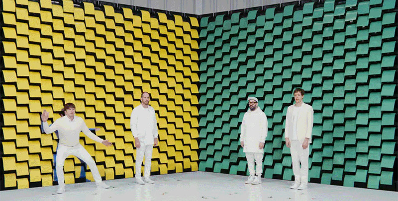 ok go obsession music videoclip