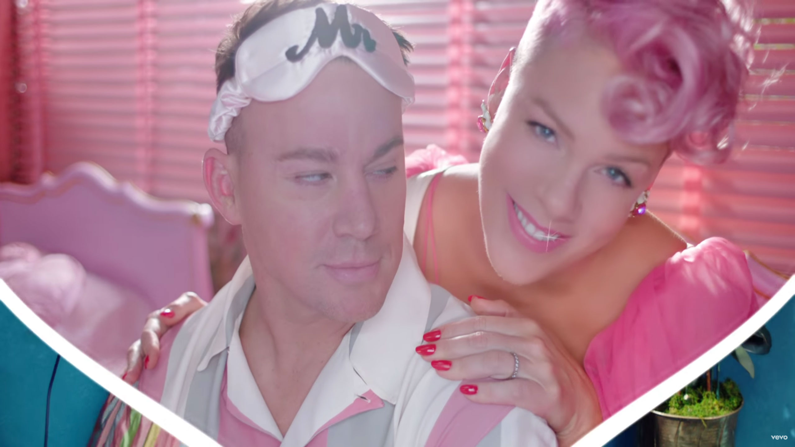 pink and channing tatum beautiful trauma video