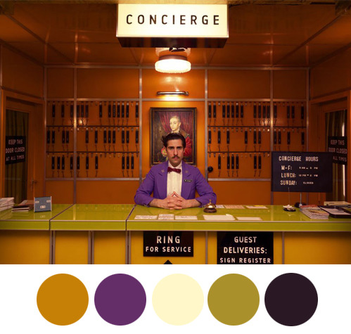 wes anderson palettes tumblr
