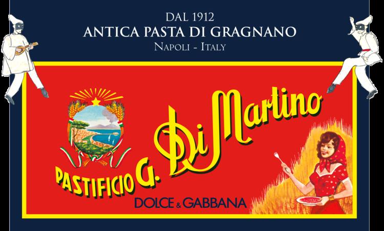 logo pasta di martino dolce gabbana