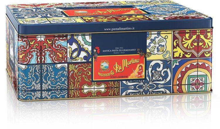tin box pasta di martino dolce & gabbana
